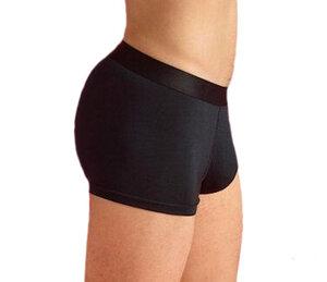 2 er Pack Trunk Shorts aus Modal Unterhose Pants schwarz-bordeaux - ege organics