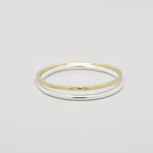 Ring 'bicolor set' - fejn jewelry