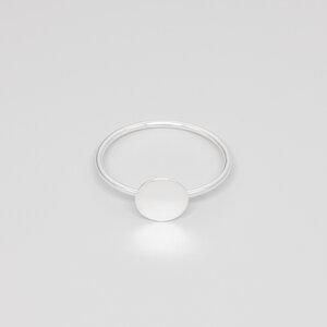 Ring 'shiny disc' - fejn jewelry