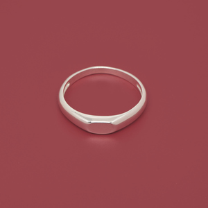 Ring 'signet' - fejn jewelry