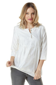 Bluse aus edelster Pima-Baumwolle aus Peru - ALEXANDRA  - Apu Kuntur
