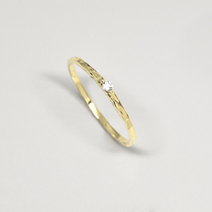 Ring 'sparkle hammered' - fejn jewelry