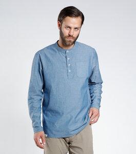 Hemd ANUP denimblau - [eyd] humanitarian clothing