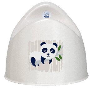 Bio Kindertopf Panda weiß - Rotho Design