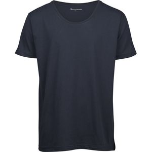 T-Shirt - Basic Loose Fit O-Neck Tee - KnowledgeCotton Apparel