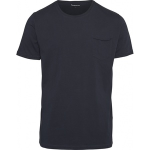 T-Shirt - Basic Tee with Chest Pocket - KnowledgeCotton Apparel