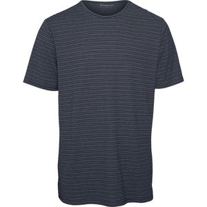 T-Shirt - O-Neck striped T-Shirt - KnowledgeCotton Apparel