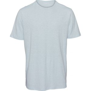 T-Shirt - O-Neck striped T-Shirt - KnowledgeCotton Apparel