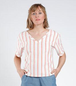 Bluse LEELANA gestreift - [eyd] humanitarian clothing