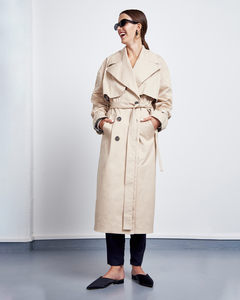 Trench Coat MILANO beige - JAN N JUNE