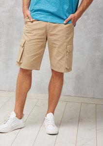 Cargo Shorts sand braun - recolution