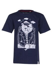 Seebär - Cooles Kinder T-Shirt Kurzarm aus 100% Bio-Baumwolle - Band of Rascals