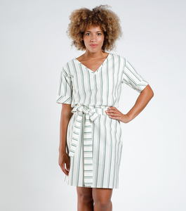 "Kleid ""Nayika"" gestreift - [eyd] humanitarian clothing"