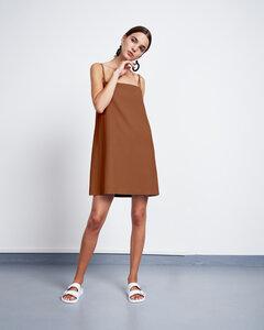 Slip Dress CAPRI cognac  - JAN N JUNE