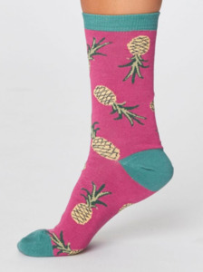 Socken Ananasmotiv – Pineapple Socks - Thought