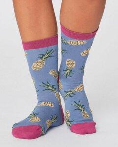 Socken Ananasmotiv – Pineapple Socks - Thought