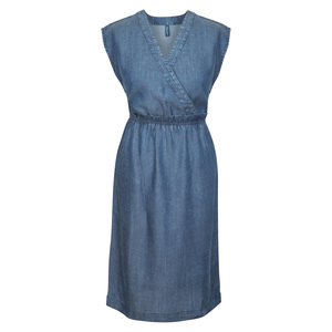 Elegantes TencelTM Kleid Louise in Wickeloptik für Damen - TRANQUILLO
