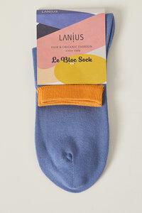Sneaker Socke aus Bio-Baumwolle GOTS - LANIUS