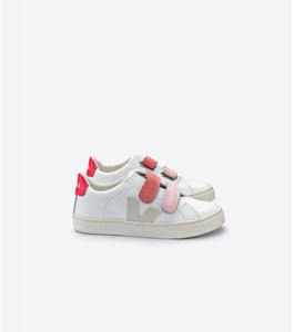 Sneaker Kinder - ESPLAR KIDS LEATHER  - EXTRA WHITE PIERRE ROS - Veja