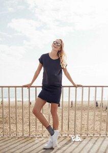 Jerseykleid Basic navy - recolution