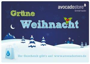 Grüne Weihnacht - Wert frei wählbar - Avocado Store