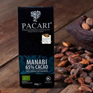 Bio-vegane Schokolade PACARI MANABÍ - Pacari