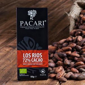 Bio-vegane Schokolade PACARI LOS RÍOS - Pacari