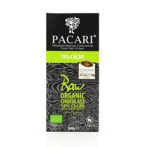 Bio-vegane rohe Schokolade PACARI RAW - Pacari