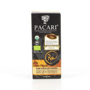 Bio-vegane schokolierte Früchte PACARI RAW - Pacari