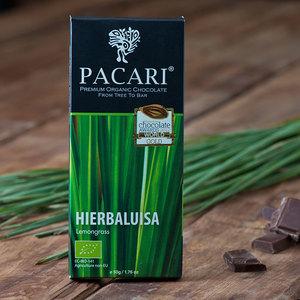 Bio-vegane Schokolade PACARI Zitronengras - Pacari