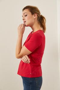 Rundhals Shirt aus Bio-Baumwolle GOTS - LANIUS