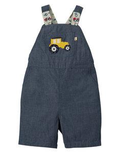 Kurze wendbare Hosen mit Trägern - Frugi
