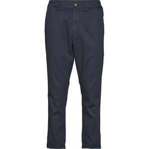 Hose - Structured Pant with elastic - KnowledgeCotton Apparel