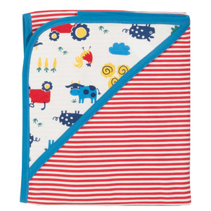Babydecke Bauernhof - Kite Clothing
