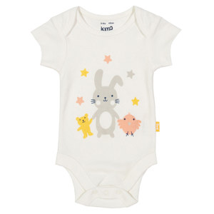 Baby Kurzarm-Body Bunny - Kite Clothing