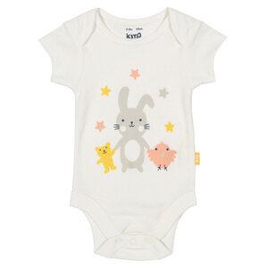 Baby Kurzarm-Body Bunny - Kite Clothing