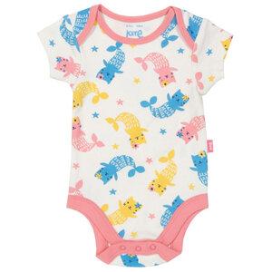 Baby Kurzarm-Body Meerkätzchen - Kite Clothing