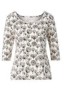 Shirt 'Runa' bedruckt, schwarz/weiß - Himalaya