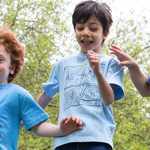 Kinder T-Shirt Comic  - Kite Clothing