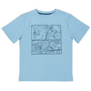 Kinder T-Shirt Comic  - Kite Clothing