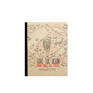 Notizbuch Dahara - 'Save the Ocean' - Matabooks