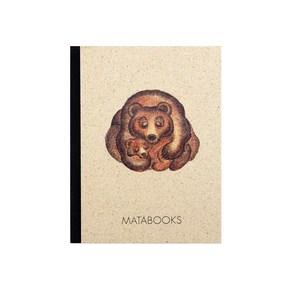 "Notizbuch Dahara - ""Bears"" - Matabooks"