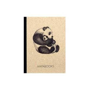 "Notizbuch Dahara - ""Panda"" - Matabooks"