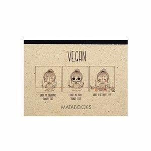 "Notizbuch Dahara - ""Vegan"" - Matabooks"