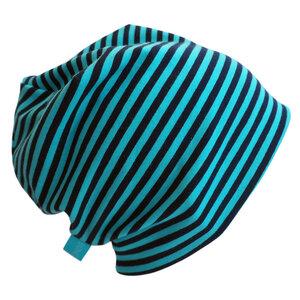 "Mütze ""Line"" marine geringelt - bingabonga®"