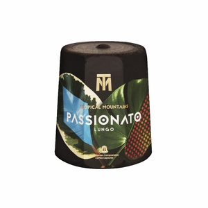 PASSIONATO Lungo - 21 kompostierbare Kaffeekapseln - Bio/Fair - Tropical Mountains