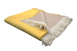 Kuscheldecke Bio Baumwolle - auch als Tagesdecke ideal  - Adam -Natürlich Wohnen