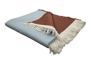 Wohnedecke  Bio Baumwolle - auch als Tagesdecke ideal  - Adam -Natürlich Wohnen