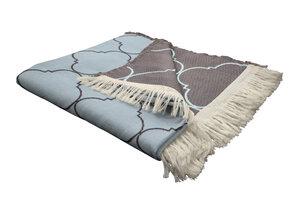 Indian Cortezada (Wohndecke) Bio Baumwolle - auch als Tagesdecke ideal  - Adam -Natürlich Wohnen
