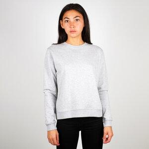 Sweatshirt Ystad grey melange - DEDICATED